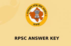 rpsc answer key 2020