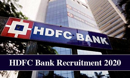 hdfc bank po recruitment 2019 apply online