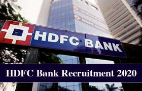 hdfc bank recruitment 2020