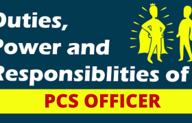 powers of pcs officer