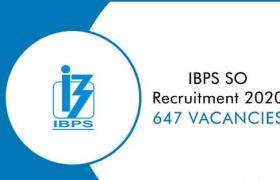 ibps so recruitment