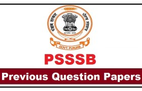 psssb previous year question papers pdf