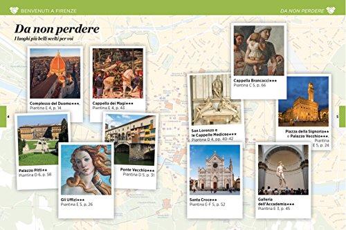 Firenze Con Carta geografica ripiegata