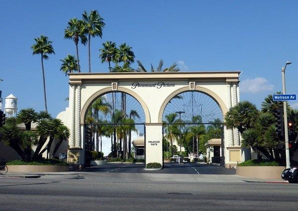 L'ingresso dei Paramount Studios di Los Angeles