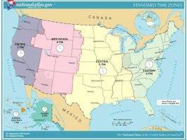 Il fuso orario negli USA: come regolarsi con l'orario negli Stati Uniti