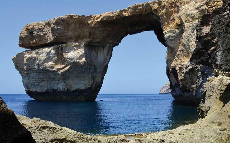 Gozo e la leggenda di Ulisse, Finestra Azzurra