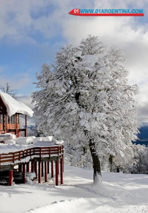Winter in patagonia