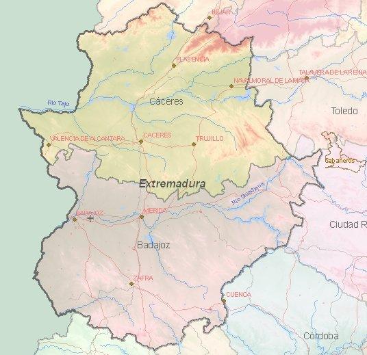 Names Rivers Spain