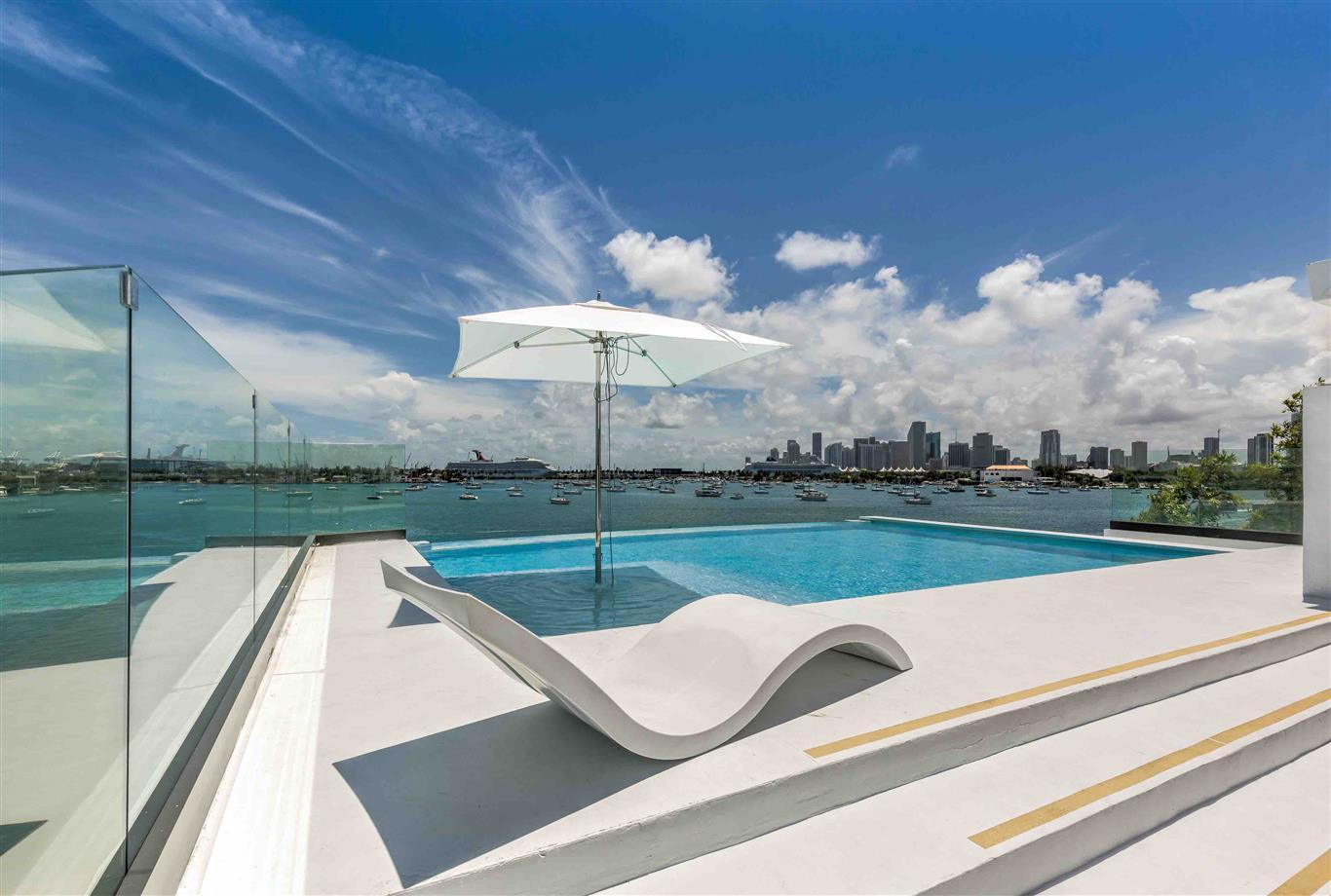 Location Villa Luxe Miami Beach Avec Jacuzzi Et Piscine
