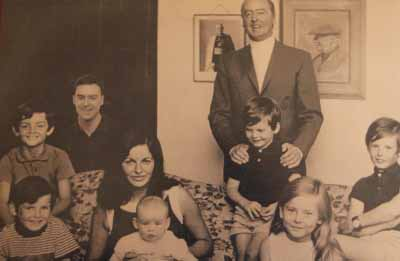 Billy Huggard and family Waterville