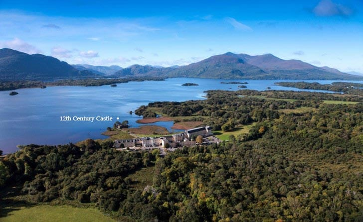 Where to stay in Killarney Lakeside setting