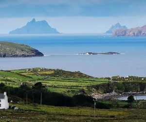 Skelligs from the Ring of Kerry