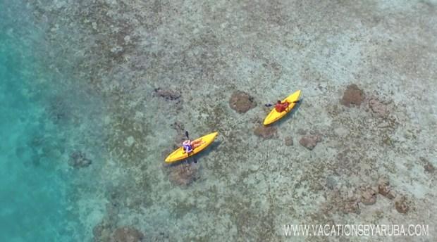 kayak-in-aruba
