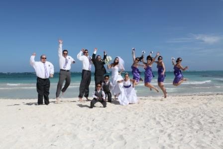 Destination Wedding at Dreams Tulum