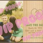 All Natural Save the Date