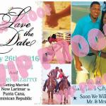 Frenchie Full ColorSave the Date