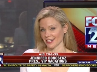 Jennifer Doncsecz, Travel Expert for Fox News in Philadelphia offers viewers travel tips.