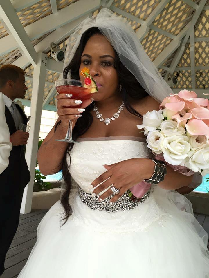 VIP Vacations Destination Wedding Couple Queen Heffron and Keenan Vick got married at Turtle Beach Resort in Barbados.