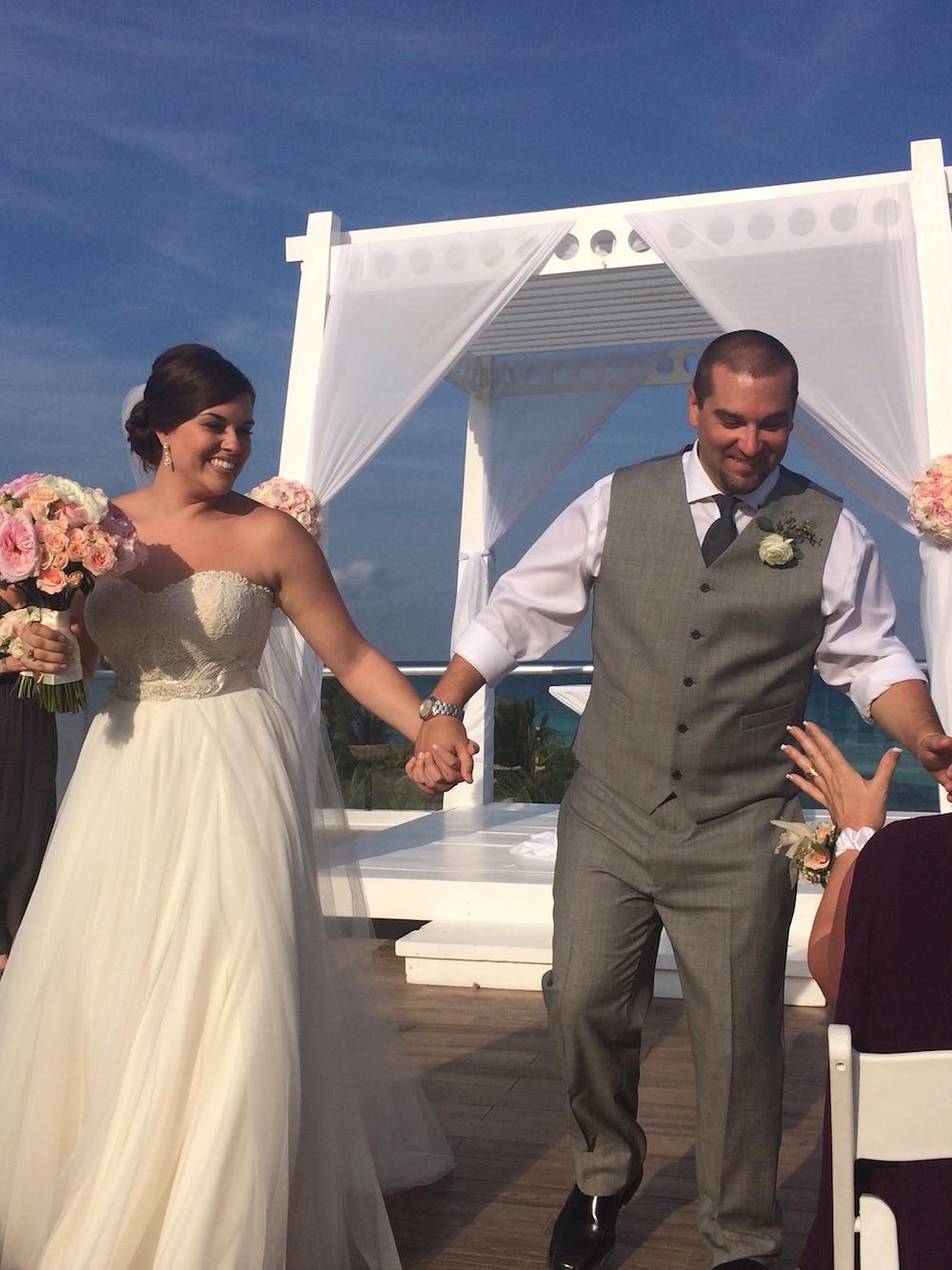 Destination Wedding at Azul Fives