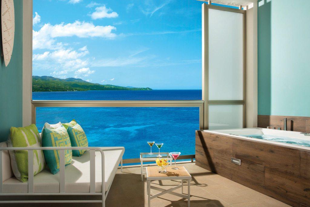 Junior Suite Ocean View Balcony and xhale club Ocean View Balcony