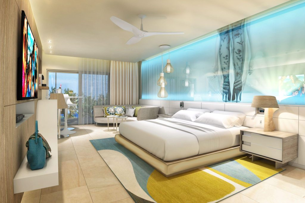Junior Suite Ocean View and xhale club Ocean View