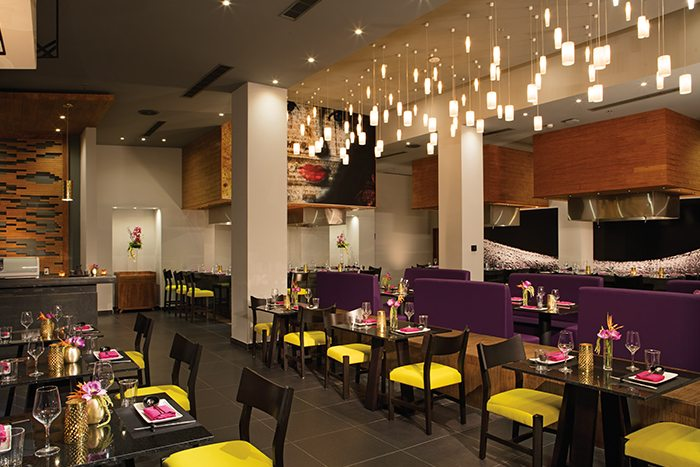 Silk City – Pan-Asian cuisine.