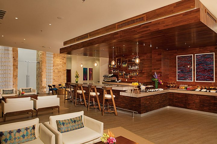 Xhale Club lounge.
