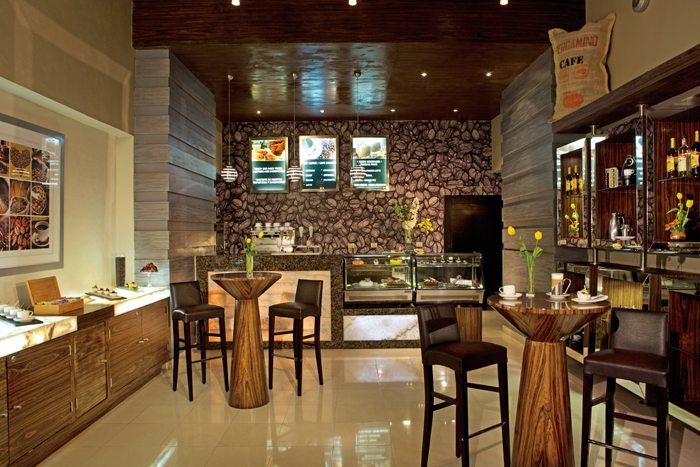 Indulge in delightful teas, coffees and pastries throughout the day at Coco café.