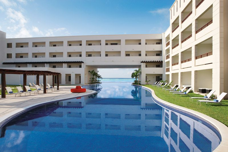 The main pool is the perfect place to lounge and take in the activities of the day.