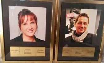 Neue Preisträgerin 2018 und alter Preisträger 2017