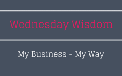 Running My Business – My Way!