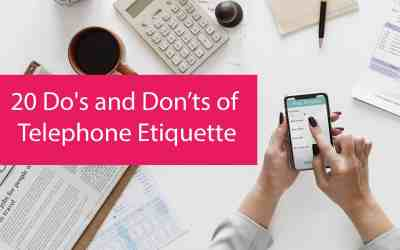 Guest Blog:  20 Do's and Don'ts of Telephone Etiquette