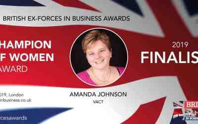 Finalist – British Ex-Forces Business Awards