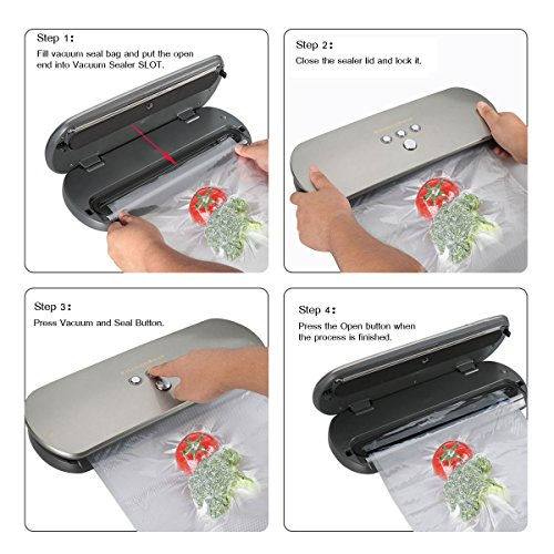 KitchenBoss vacuum sealer Review