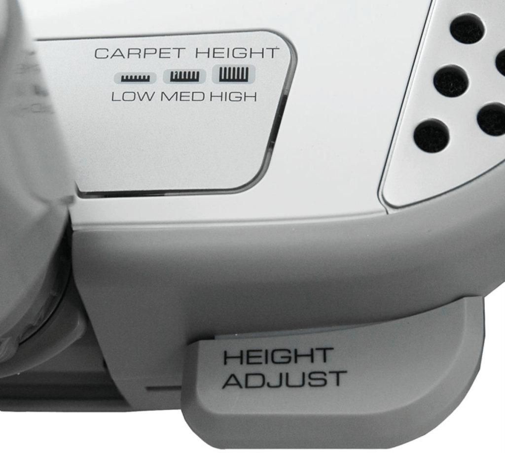 Carpet height adjustment