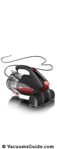 The Dirt Devil Hand Vac 2.0 Bagless, a new handheld vacuum cleaner gem