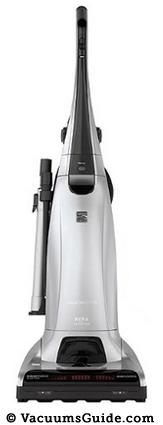 Kenmore 31150 Elite Bagged Upright Vacuum Cleaner - Silver