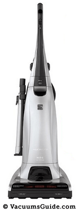 Kenmore 31150 Elite Bagged Upright Vacuum Cleaner Silver