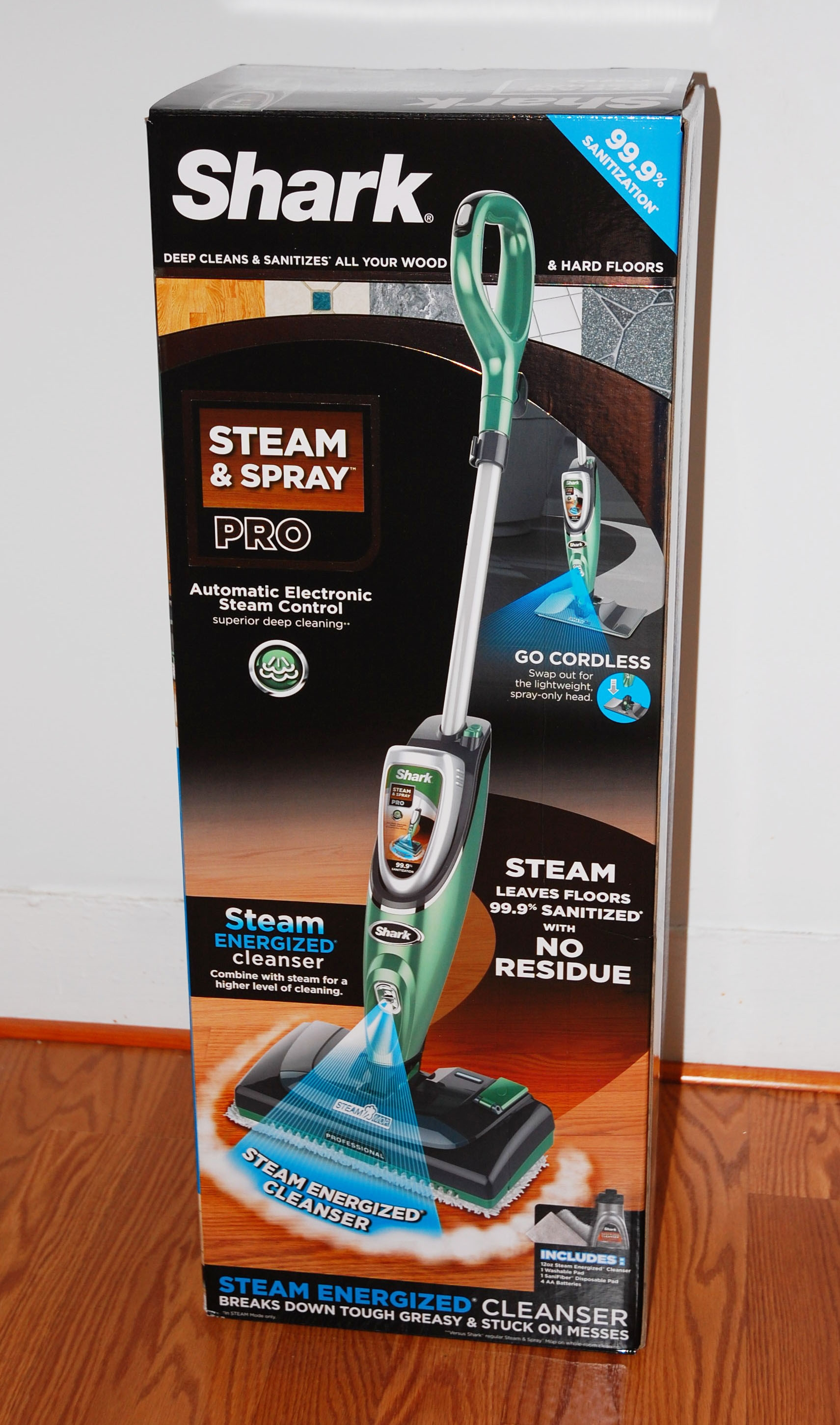 Steam Mop Package