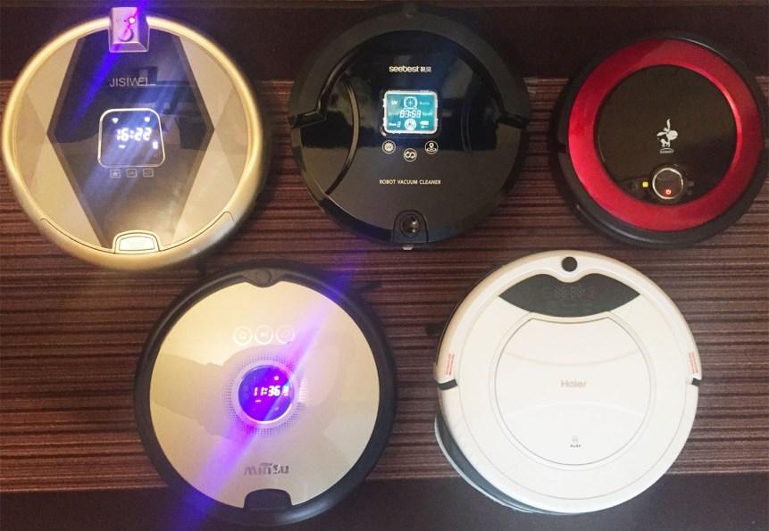 My recent robot vacuums