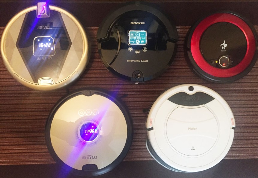 My recent robot vacuums