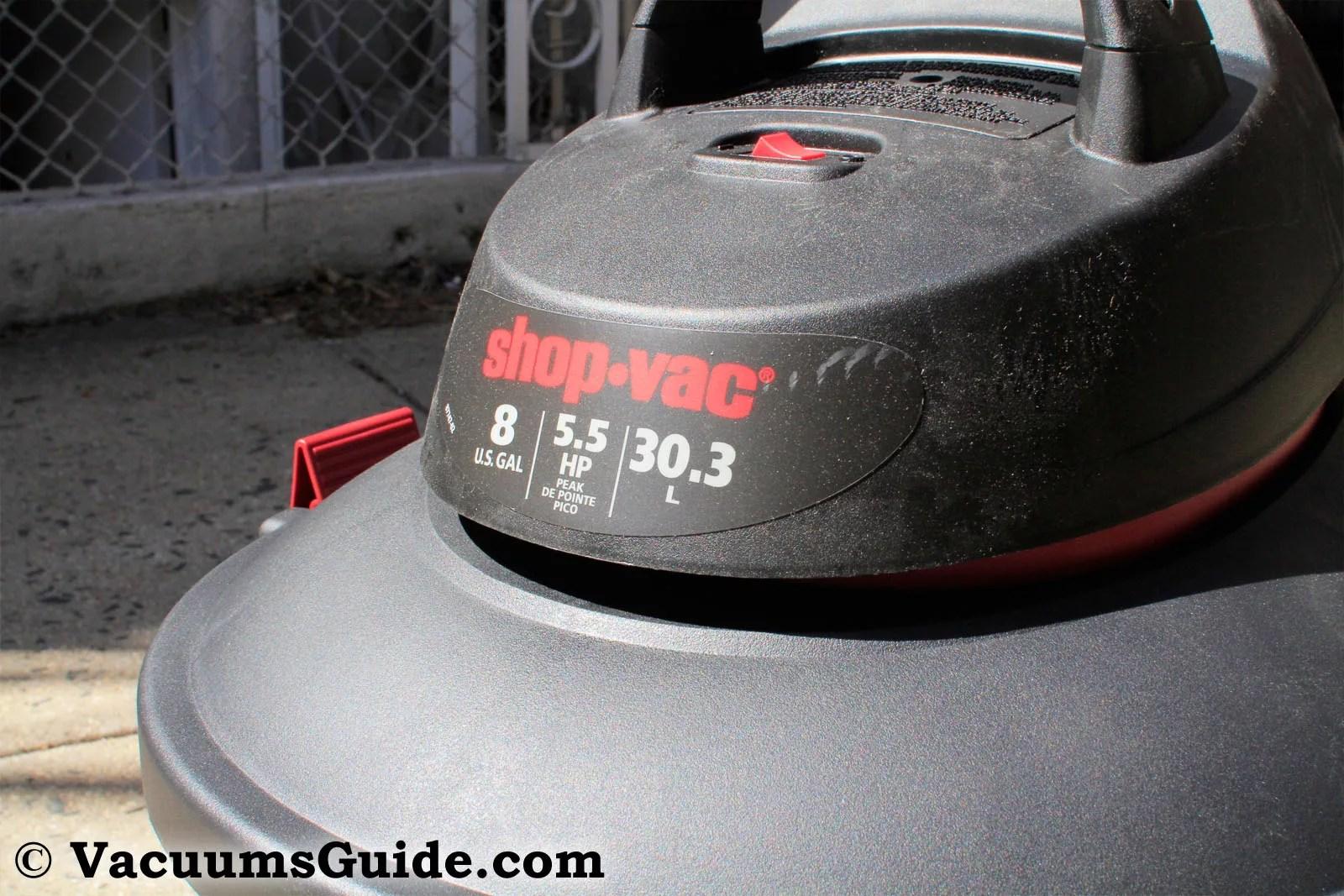 Shop-Vac 5986100 front view