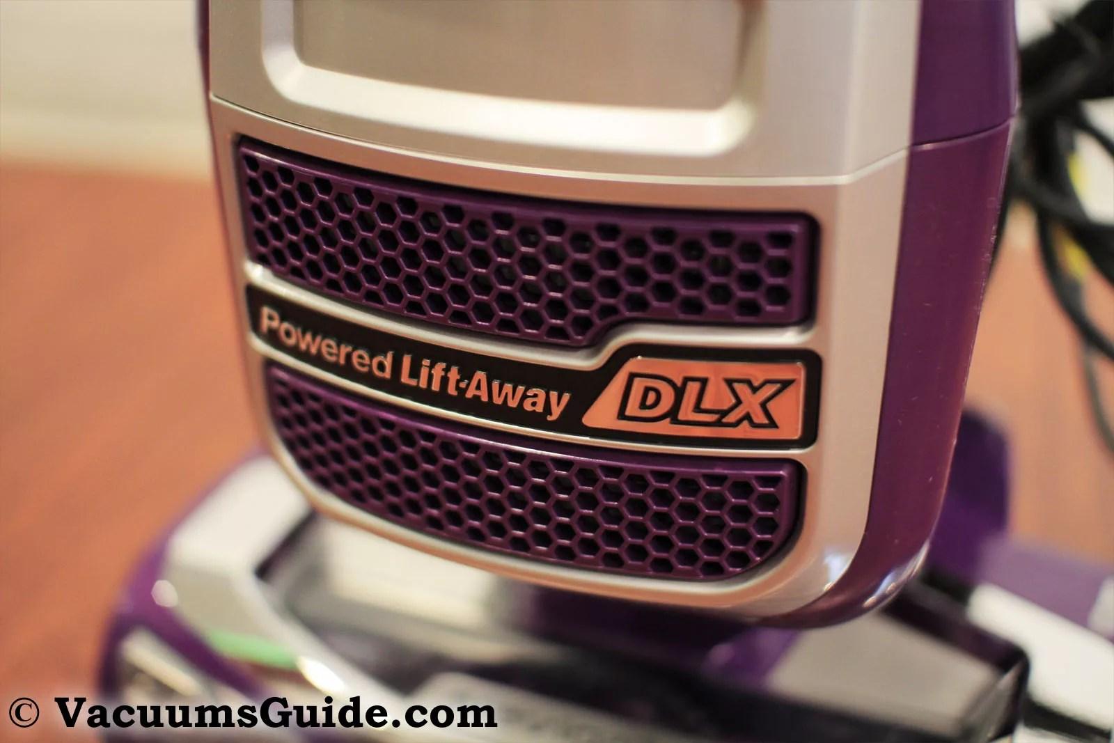 Shark Navigator Powered Lift-Away Deluxe filter output