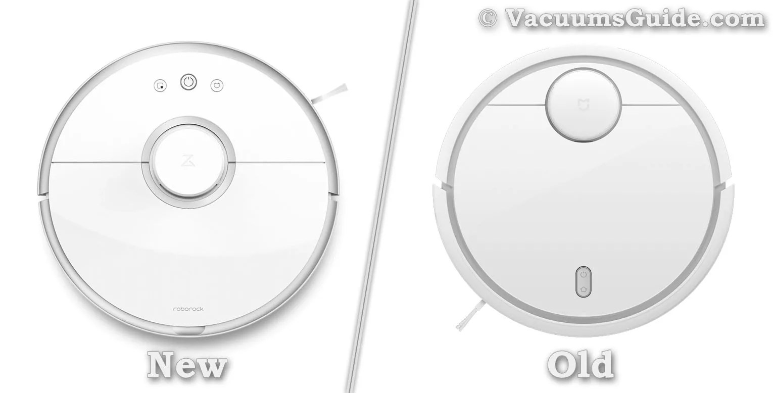 Xiaomi Robot Vacuum Original Vs Upgraded Version