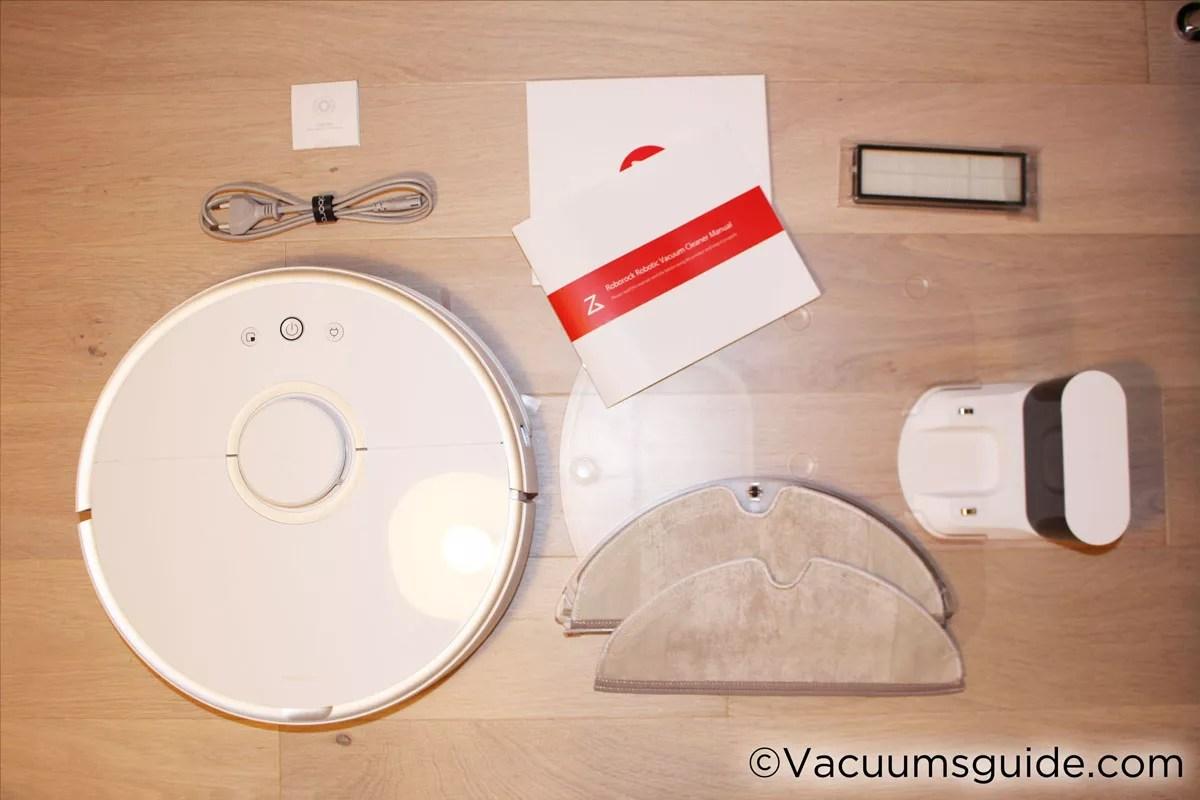 Xiaomi 2 Robot Box Contents
