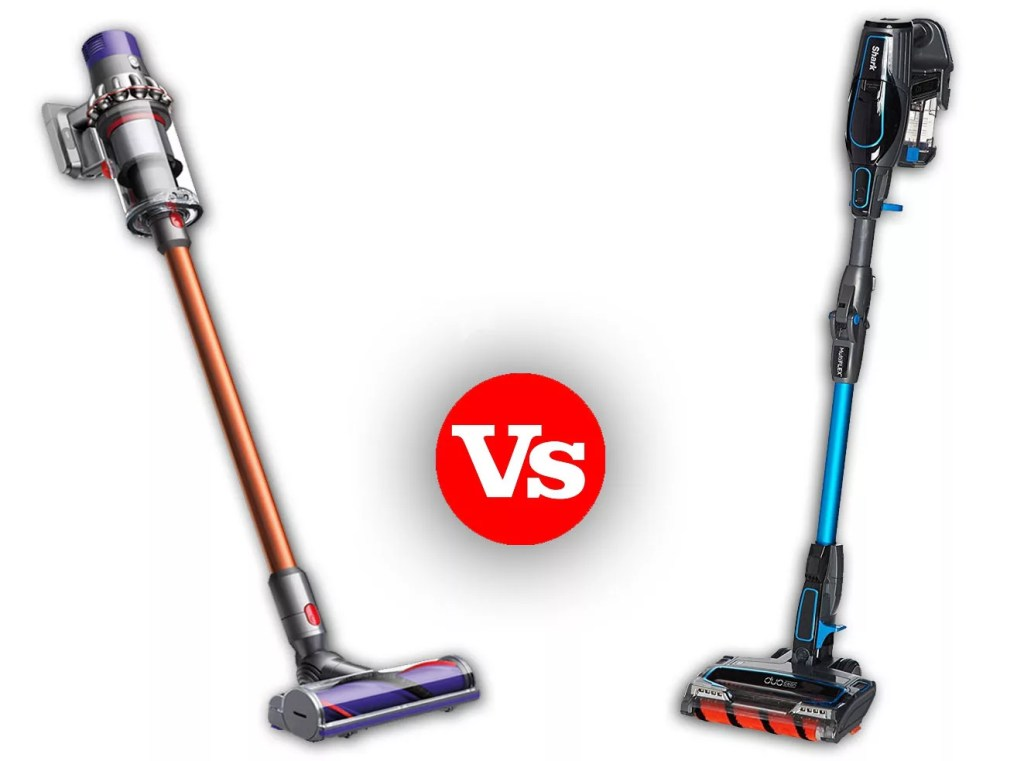 Dyson V10 Absolute Vs Shark Ionflex 2x Duoclean Cordless