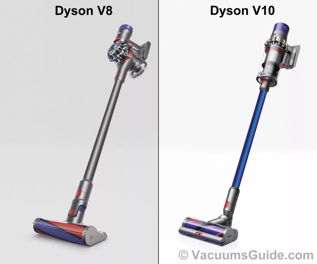 dyson v10 vs dyson v8. Black Bedroom Furniture Sets. Home Design Ideas