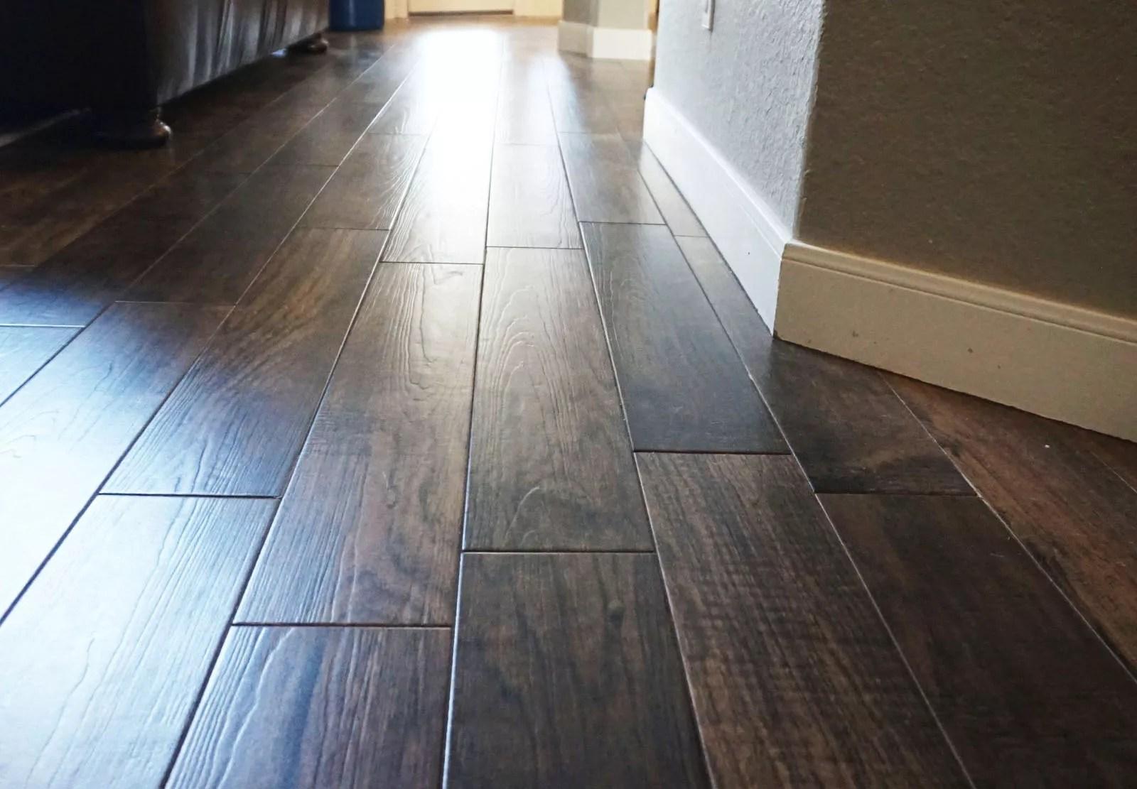 wood look tile flooring reviews pros