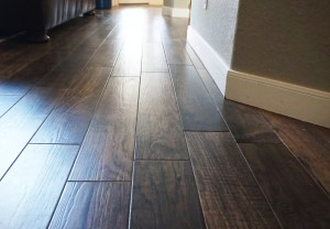 Wood-look tile flooring reviews – pros and cons