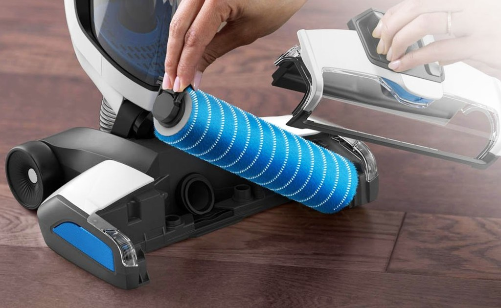 Hoover FloorMate maintenance - brushroll and filter